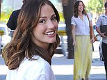 """Picture Shows: Minka Kelly, Friend  March 24, 2015\n \n Former """"Friday Night Lights"""" star Minka Kelly drops by Largo at the Coronet Theatre in West Hollywood, California. Minka looked stylish and sunny in a yellow maxi skirt.\n \n Non Exclusive\n UK RIGHTS ONLY\n \n Pictures by : FameFlynet UK © 2015\n Tel : +44 (0)20 3551 5049\n Email : info@fameflynet.uk.com"""