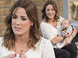 EDITORIAL USE ONLY. NO MERCHANDISING  Mandatory Credit: Photo by Ken McKay/ITV/REX (4587110aw)  Natalie Pinkham and son Wilfred  'This Morning' TV Programme, London, Britain. - 24 Mar 2015  Natalie Pinkham - 11.00. We hear the traumatic story of F1 presenter Natalie Pinkham who nearly died during childbirth just 9 weeks ago.