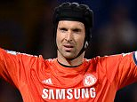 File photo dated 24-09-2014 of Chelsea goalkeeper Petr Cech. PRESS ASSOCIATION Photo. Issue date: Wednesday 17 December, 2014. Petr Cech insists his padded helmet saved him and Chelsea team-mate Kurt Zouma from serious injury. See PA story SOCCER Derby. Photo credit should read Andrew Matthews/PA Wire.