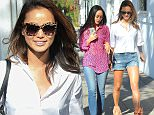 Jamie Chung and Cara Santana Shop in West Hollywood\n\nPictured: Jamie Chung\nRef: SPL983638  240315  \nPicture by: Photographer Group / Splash News\n\nSplash News and Pictures\nLos Angeles: 310-821-2666\nNew York: 212-619-2666\nLondon: 870-934-2666\nphotodesk@splashnews.com\n