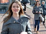 Pic Paul Cousans/Zenpix ...\nCorries Kate Ford poppa to the shops today during a lunchtime break at Mediacity,Salford.\n