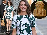 Maisie Williams seen arriving at ABC studios for Jimmy Kimmel Live Featuring: Maisie Williams Where: Los Angeles, California, United States When: 25 Mar 2015 Credit: Michael Wright/WENN.com
