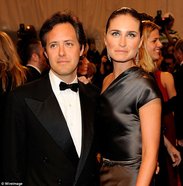 Controversial: The wedding of Ralph Lauren's son David to Lauren Bush has been marred by family feuds and snubbed invitations