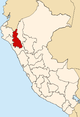 Location of Cajamarca Region.png
