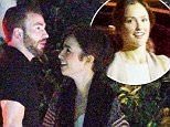 21 MARCH 2015 - LOS ANGELES - USA\n*** EXCLUSIVE ALL ROUND PICTURES ***\n*** STRICLY NOT AVAILABLE FOR USA ***\nCHRIS EVANS MAKES A DEBUT APPEARANCE WITH HIS NEW GIRLFRIEND LILY COLLINS AS THE COUPLE ENJOY A ROMANTIC DINNER TOGETHER AT PACE IN LOS ANGELES. THE PERFECT NIGHT WAS ALMOST SPOILED AS CHRIS LAST GIRLFRIEND MINKA KELLY ARRIVES WITH A FRIEND TO THE SAME RESTUARANT AND SPOTTING HIS CAR IN THE PARKING LOT! CHRIS AND LILY WERE LATER SEEN HEADING BACK TO HER HOLLYWOOD CONDO.\nBYLINE MUST READ : XPOSUREPHOTOS.COM\n***UK CLIENTS - PICTURES CONTAINING CHILDREN PLEASE PIXELATE FACE PRIOR TO PUBLICATION ***\n**UK CLIENTS MUST CALL PRIOR TO TV OR ONLINE USAGE PLEASE TELEPHONE  44 208 344 2007**
