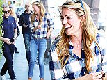 EXCLUSIVE: 'So You Think You Can Dance' hostess Cat Deeley seen leaving lunch after sitting near Mark Wahlberg.  Pictured: Patrick Kielty and Cat Deeley Ref: SPL983672  240315   EXCLUSIVE Picture by: KAT / Splash News  Splash News and Pictures Los Angeles: 310-821-2666 New York: 212-619-2666 London: 870-934-2666 photodesk@splashnews.com