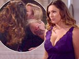 24 March 2015-NYC-USA  **** STRICTLY NOT AVAILABLE FOR USA ***  English actress Kelly Brook shows off her bulging cleavage in new scenes from her upcoming tv show One Big Happy. Brook, wearing a sexy revealing purple lingerie number, showed off her ample assets to where even co-star Elisha Cuthbert couldnt help but sneak a glance at them in scenes which will be shown in an upcoming episode of the new NBC US sitcom.      XPOSURE PHOTOS DOES NOT CLAIM ANY COPYRIGHT OR LICENSE IN THE ATTACHED MATERIAL. ANY DOWNLOADING FEES CHARGED BY XPOSURE ARE FOR XPOSURE'S SERVICES ONLY, AND DO NOT, NOR ARE THEY INTENDED TO, CONVEY TO THE USER ANY COPYRIGHT OR LICENSE IN THE MATERIAL. BY PUBLISHING THIS MATERIAL , THE USER EXPRESSLY AGREES TO INDEMNIFY AND TO HOLD XPOSURE HARMLESS FROM ANY CLAIMS, DEMANDS, OR CAUSES OF ACTION ARISING OUT OF OR CONNECTED IN ANY WAY WITH USER'S PUBLICATION OF THE MATERIAL.     BYLINE MUST READ : NBC/XPOSUREPHOTOS.COM  PLEASE CREDIT AS PER BYLINE *UK CLIENTS MUST CALL PR