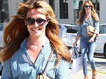Picture Shows: Cat Deeley  March 24, 2015\n \n British television presenter and actress Cat Deeley enjoys a day of shopping in Beverly Hills, California with a friend. The 'So You Think You Can Dance' star recently made an appearance on 'The Simpsons,' playing herself. \n \n Non Exclusive\n UK RIGHTS ONLY\n \n Pictures by : FameFlynet UK � 2015\n Tel : +44 (0)20 3551 5049\n Email : info@fameflynet.uk.com