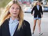Gwyneth Paltrow wearing Tiny shorts and cardigan with sneakers. The 42 year old mother of two looked like a teenager running errands.   March 24, 2015 X17online.com\nNO  WEB SITE USAGE\nMAGAZZINES DOUBLE FEES\nAny queries call X17 UK Office /0034 966 713 949/926 \nAlasdair 0034 630576519 \nGary 0034 686421720\nLynne 0034 611100011
