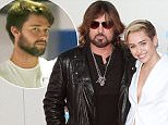 Mandatory Credit: Photo by ddp USA/REX (3386033e)  Billy Ray Cyrus and Miley Cyrus  American Music Awards, Arrivals, Los Angeles, America - 24 Nov 2013
