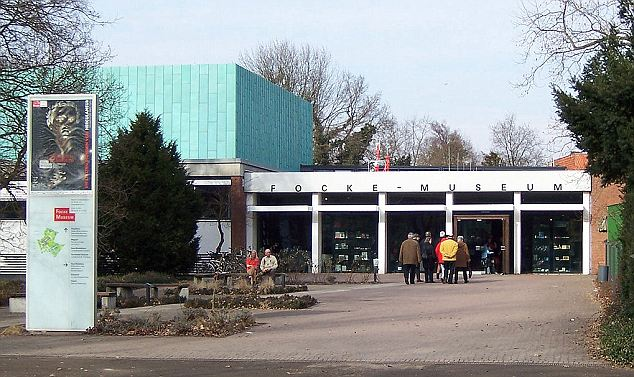 Nazi hunters: The exhibition is at Bremen's Focke Museum, pictured, and is called 'Dig for Germania. Archaeology under the Swastika'
