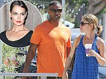 Please contact X17 before any use of these exclusive photos - x17@x17agency.com   Jamie Foxx scores a hot blonde lunch date in Malibu, despite his rumored romance with Katie Holmes. March 25, 2015 X17online.com EXCLUSIVE