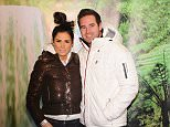 26 March 2015. Celebrities swarm into an all-new I'm A Celebrity..Get Me Out Of Here! Maze at THORPE PARK Resort which is now open for public to take on their very own Bush Trials. Pictured, Katie Price, Kieran Hayler Credit: Ben Eade/GoffPhotos.com   Ref: KGC-102