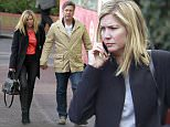 LONDON, ENGLAND - MARCH 24:  MasterChef Judge John Torode is pictured walking hand in hand with actress girlfriend Lisa Faulkner on March 24, 2015 in London, England.  (Photo by Ada/GC Images)