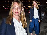 NEW YORK, NY - MARCH 27:  Uma Thurman is seen in Uptown on March 27, 2015 in New York City.  (Photo by Alessio Botticelli/GC Images)