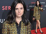 """BEIJING, CHINA - MARCH 26:  (CHINA OUT) Actress Jennifer Connelly of US attends the opening event of LV (LouisVuitton) """"Series 2"""" at China World Shopping Mall on March 26, 2015 in Beijing, China.  (Photo by ChinaFotoPress/ChinaFotoPress via Getty Images)"""