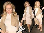 March 27, 2015\n \n Celebrities spotted at Pavilion Bar on Kensington High Street during a night out in London, UK.\n \n Non-Exclusive\n WORLDWIDE RIGHTS\n \n Pictures by : FameFlynet UK © 2015\n Tel : +44 (0)20 3551 5049\n Email : info@fameflynet.uk.com Aisleyne Horgan-Wallace