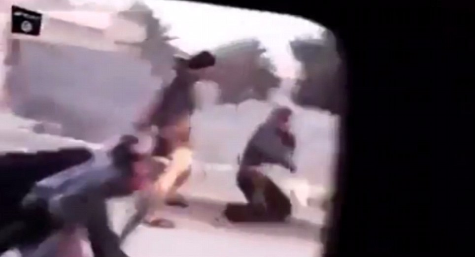 Shocking: Footage reportedly taken by ISIS militants shows Islamist fighters randomly shooting pedestrians and motorists as they take over towns and cities in Iraq