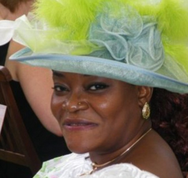 Worried: Juliet Obasuyi, the mother of one of the men suspected of butchering a British solider on a south London street, desperately attempted to turn him against extremism
