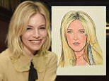 Sienna Miller attends her Sardi's Caricature Unveiling at Sardi's on March 27, 2015 i
