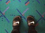 PDX airport carpet portland