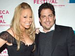 """Mariah Carey and Brett Ratner during 4th Annual Tribeca Film Festival - """"The Interpreter"""" Premiere - Inside Arrivals at Ziegfeld Theatre in New York City, New York, United States. (Photo by KMazur/WireImage)"""