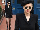 Rita Ora leaving her home in an all black outfit\nFeaturing: Rita Ora\nWhere: London, United Kingdom\nWhen: 28 Mar 2015\nCredit: Will Alexander/WENN.com