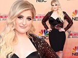 LOS ANGELES, CA - MARCH 29:  Singer Meghan Trainor attends the 2015 iHeartRadio Music Awards which broadcasted live on NBC from The Shrine Auditorium on March 29, 2015 in Los Angeles, California.  (Photo by Jason Merritt/Getty Images for iHeartMedia)