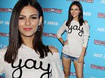 Pictured: Victoria Justice \nMandatory Credit © Frederick Taylor/Broadimage\nJust Jared's Throw Back Thursday Party\n\n3/26/15, Glendale, California, United States of America\n\nBroadimage Newswire\nLos Angeles 1+  (310) 301-1027\nNew York      1+  (646) 827-9134\nsales@broadimage.com\nhttp://www.broadimage.com