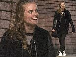 EXCLUSIVE: Cressida Bonas is pictured for the first time after Prince Harry was reportedly spotted watching his ex-girlfriend in the opening night of her new play the night before. She was pictured after the play walking with some of her colleagues who were performing in London. Pics taken March 26th.  Pictured: Cressida Bonas Ref: SPL984291  270315   EXCLUSIVE Picture by: Splash News  Splash News and Pictures Los Angeles: 310-821-2666 New York: 212-619-2666 London: 870-934-2666 photodesk@splashnews.com