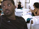 """UK CLIENTS MUST CREDIT: AKM-GSI ONLY\nEXCLUSIVE: R&B and """"Love and Hip Hop"""" reality stars Ray J and girlfriend Princess Love enjoy an afternoon together at a nail spa in Beverly Hills, CA on March 28, 2015.  The two pampered themselves with a tandem mani and pedi, while indulging themselves with a bit of champagne. It was reported that the reality tv stars quit the show, as they feel that they have been showcased negatively. The two have recently renegotiated with the producers so that they will be reflected in a more positive light.\n\nPictured: Ray J and Princess Love\nRef: SPL986702  280315   EXCLUSIVE\nPicture by: AKM-GSI / Splash News\n\n"""