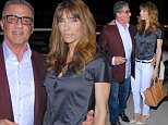 Beverly Hills, CA - Sylvester Stallone and his wife Jennifer Flavin step out for dinner with family in Beverly Hills. The Rocky Star stepped out with this Wife Jennifer Flavin for a Romantic Dinner with the Family in Beverly Hills at Via Alloro Resturant! Sylvester stallone was dressed very trendy with his red/burgundy coat and jeans and his stylish glasses. Sylvestor and Jennifer shared a few romantic kisses for the camera. The Couple to be in good spirits and happy enjoying each others company!\nAKM-GSI        March  28, 2015\nTo License These Photos, Please Contact :\nSteve Ginsburg\n(310) 505-8447\n(323) 423-9397\nsteve@ginsburgspalyinc.com\nsales@ginsburgspalyinc.com\nor\nKeith Stockwell\n(310) 261-8649\nkeith@ginsburgspalyinc.com\nginsburgspalyinc@gmail.com