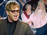 28 Sep 2011, Las Vegas, NV, 89121 --- Elton John returns to The Colosseum at Caesars Palace and premieres his new show,    The Million Dollar Piano,    in Las Vegas, NV on September 28, 2011.    RD/ Kabik --- Image by     RD/ Kabik/Retna Ltd./Corbis