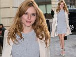Bella Thorne pictured arriving the Radio 1 studio to appear as a guest on the Nick Grimshaw Featuring: Bella Thorne Where: London, United Kingdom When: 30 Mar 2015 Credit: Mario Mitsis/WENN.com
