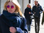 EXCLUSIVE / NO NYC PAPERS SALES\\nMarch 29th 2015 : Dakota Fanning and Jamie Strachan seen taking a walk together in New York City, USA. MANDATORY CREDIT Pictures by Dave Spencer
