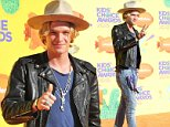 Nickelodeon's 28th Annual Kidís Choice Awards 2015 - Arrivals held at The Forum in Los Angeles, CA. March 28, 2015.\nFeaturing: Cody Simpson\nWhere: Los Angeles, California, United States\nWhen: 28 Mar 2015\nCredit: Adriana M. Barraza/WENN.com