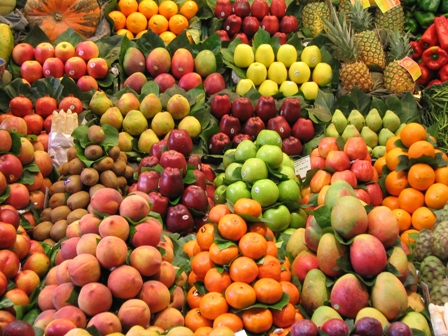 fresh produce: