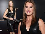 """NEW YORK, NY - MARCH 30:  Actress Brooke Shields attends the """"Women In Gold"""" New York premiere at Museum of Modern Art on March 30, 2015 in New York City.  (Photo by Larry Busacca/Getty Images)"""
