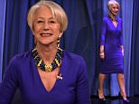 """NEW YORK, NY - MARCH 30:  Helen Mirren Visits """"The Tonight Show Starring Jimmy Fallon"""" at Rockefeller Center on March 30, 2015 in New York City.  (Photo by Theo Wargo/NBC/Getty Images for """"The Tonight Show Starring Jimmy Fallon"""")"""