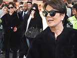 30 Mar 2015 - NEW YORK - USA  KENDALL JENNER AND KRIS JENNER ARRIVE AT JFK AIRPORT IN NYC.   BYLINE MUST READ : XPOSUREPHOTOS.COM  ***UK CLIENTS - PICTURES CONTAINING CHILDREN PLEASE PIXELATE FACE PRIOR TO PUBLICATION ***  **UK CLIENTS MUST CALL PRIOR TO TV OR ONLINE USAGE PLEASE TELEPHONE  44 208 344 2007 ***
