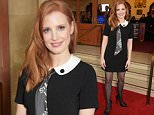 """LONDON, ENGLAND - MARCH 30:  Jessica Chastain attends at a special screening of """"Interstellar Live"""" at Royal Albert Hall on March 30, 2015 in London, England.  \nPic Credit: Dave Benett\n"""