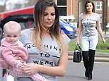 Jessica Wright, Ferne McCann and Billie Faiers with Nelly film at Charlies sweet emporium in essex.  Pictured: Jessica Wright Ref: SPL987179  310315   Picture by: Jaimie / Splash News  Splash News and Pictures Los Angeles: 310-821-2666 New York: 212-619-2666 London: 870-934-2666 photodesk@splashnews.com