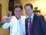 BEST QUALITY AVAILABLE Photo taken from the Twitter feed of @nick_clegg of the Liberal Democrat leader Nick Clegg meeting Joey Essex from ITV's The Only Way Is Essex after a press conference in Westminster, London. PRESS ASSOCIATION Photo. Issue date: Tuesday March 31, 2015. See PA story ELECTION LibDems. Photo credit should read: @nick_clegg/PA Wire NOTE TO EDITORS: This handout photo may only be used in for editorial reporting purposes for the contemporaneous illustration of events, things or the people in the image or facts mentioned in the caption. Reuse of the picture may require further permission from the copyright holder.