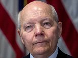 John Koskinen, commissioner of the Internal Revenue Service (IRS), waits to speak during a National Press Club luncheon in Washington, D.C., U.S., on Tuesday, March 31, 2015. Koskinen, 75, became commissioner in December 2013. He is trying to persuade Congress to increase the agency's budget after a 3 percent cut this year. At the same time the agency's workload has expanded, partly because of its responsibility to implement parts of Obamacare. Photographer: Andrew Harrer/Bloomberg via Getty Images