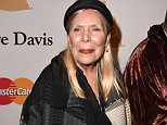 LOS ANGELES, CA - FEBRUARY 07:  Joni Mitchell arrives at the Pre-GRAMMY Gala And Salute To Industry Icons Honoring Martin Bandier on February 7, 2015 in Los Angeles, California.  (Photo by Steve Granitz/WireImage)