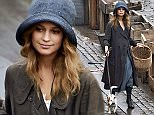 Picture Shows: Alicia Vikander  March 26, 2015    First pictures of Swedish actress Alicia Vikander filming on the set of 'The Danish Girl' in Copenhagen, Denmark.    Alicia was walking a dog on the docks and mixing with the extras.    The off-screen girlfriend of Michael Fassbender stars in the film with Oscar-winner Eddie Redmayne and has spoken herself of her aspirations to receive the award herself in 2016 with upcoming films  'Ex Machina', 'The Man from U.N.C.L.E.' and 'Tulip Fever.'    Exclusive - ALL ROUND  WORLDWIDE RIGHTS - **NO USA, SWEDEN AND DENMARK**    Pictures by : FameFlynet UK    2015  Tel : +44 (0)20 3551 5049  Email : info@fameflynet.uk.com