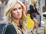 Picture Shows: Nicky Hilton  March 30, 2015\n \n Socialite Nicky Hilton spotted catching a cab in New York City, New York. Nicky looked chic in a black blouse, black leather mini skirt, Christian Louboutins and a black Chanel handbag.\n \n Non Exclusive\n UK RIGHTS ONLY\n \n Pictures by : FameFlynet UK © 2015\n Tel : +44 (0)20 3551 5049\n Email : info@fameflynet.uk.com