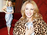PARIS, FRANCE - MARCH 31:  Singer Kylie Minogue attends the 'APREC' Benefit Gala at Theatre Montparnasse on March 31, 2015 in Paris, France.  (Photo by Julien Hekimian/Getty Images)