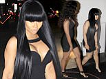EXCLUSIVE: Model Blac Chyna spotted in a LBD heading to dinner with a friend in Beverly Hills.  Pictured: Blac Chyna Ref: SPL988518  300315   EXCLUSIVE Picture by: MCGM  / Splash News  Splash News and Pictures Los Angeles: 310-821-2666 New York: 212-619-2666 London: 870-934-2666 photodesk@splashnews.com