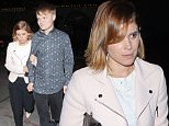 West Hollywood, CA - Kate Mara and her dinner companion lock arms as they leave Craig's Restaurant in West Hollywood. The 'House of Cards' actress dressed casual in a light pink coat over a white shirt, black trousers and a pair of studded shoes.\nAKM-GSI          March 30, 2015\nTo License These Photos, Please Contact :\nSteve Ginsburg\n(310) 505-8447\n(323) 423-9397\nsteve@akmgsi.com\nsales@akmgsi.com\nor\nMaria Buda\n(917) 242-1505\nmbuda@akmgsi.com\nginsburgspalyinc@gmail.com